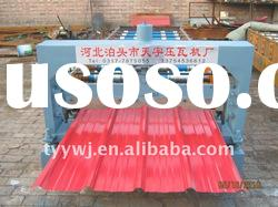 TianYu860 plate roll forming machine for color steel