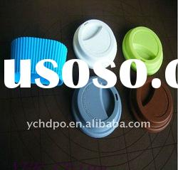 Water-Proof Silicone Coffee Cup Lid