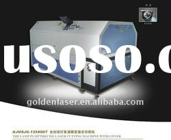YAG Laser System for metal pipe cutting with rotary device