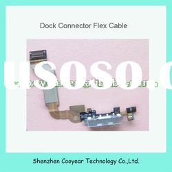 original new charging port flex cable for iphone 4s white and black paypal is accepted