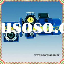 packing machinery worm gearbox with motor