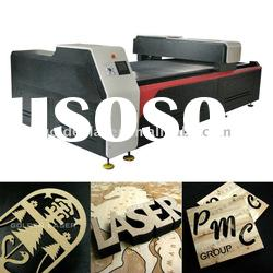 wood veneer laser cutting system for marquetry furniture