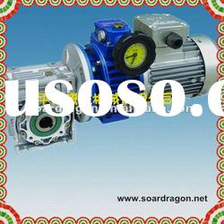 woodworking machine worm gearbox with motor