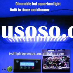 120w LCD timer and dimmable Knobs dimmable aquarium led lighting