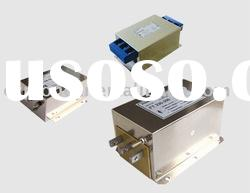 1A-1600A AC three phase three line EMI filters for Input Inverter