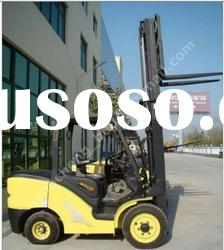 3 ton lift capacity hydraulic diesel engine forklift truck for sale