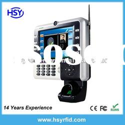 8 inch TFT Fingerprint Time Attendance and Access Control Terminal