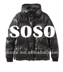 Feather down winter coats for ladies