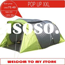 Large pop up tent, 4 person family tent, very special camping tent