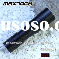 Maxtoch ZO5Q-1 3W CREE XR-E Q5 225LM CR123 Aluminum Zoom LED Flashlight