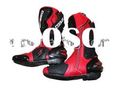 Men fashion leather boots/motorcycle racing boots/mens leather riding boots