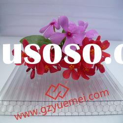 SGS approved building material PC Sheet Polycarbonate Honeycomb Sheet