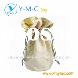 Slik small drawstring pouches for jewelry