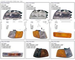 auto lamp and body parts for HONDA CIVIC COUPE CRX 1988-1999