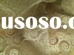 bronzing organza fabric /decoration and gift packaging fabric