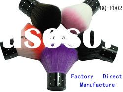 dropshipping cosmetic brush set/BQ-F002different color metal handle with diamond makeup brush