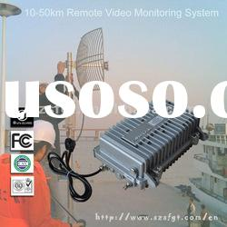 10-50W FM Outdoor Wireless Video Transmitter and Receiver, Transmission System.
