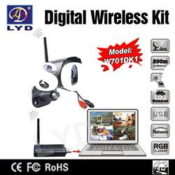 2012 New Internet Quad View Digital Wireless Video Wifi Transmitter And Receiver