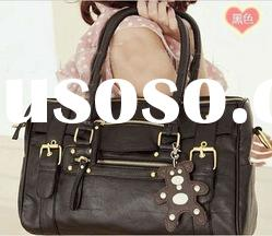 2012 hot sell leather lady fashion bags handbags