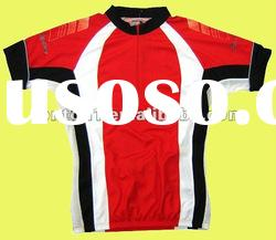 2012 sublimated custom quick dry cycling jersey