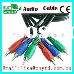 3 rca component video av cable 3rca to for dvd player