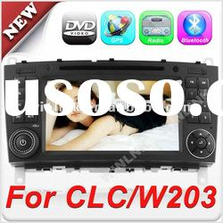 7'' 2 din HD Touch Screen car stereo for Mercedes-Benz C-Class W203 CLC G-Class w467