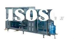 Automatic bottle water washing filling and capping machine