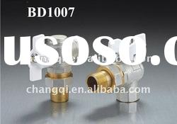 Brass Angle Ball Valve(Male/Female Thread with White Butterfly Lever handle)