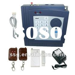 Cheap TEL Home Alarm System with remote control, LED display,Built-in Siren, Keypad on the Panel