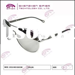Cool Metal Male Sunglasses Customized