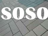Eco-friendly Wood Plastic Composite/WPC Tile--Easy Install