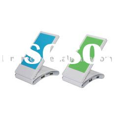 Factory Hot sell 4 port USB HUB with mobile phone holder