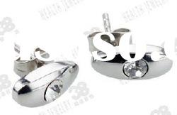 Fashion Titanium stainless steel earrings classic design