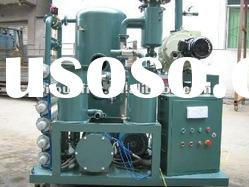 High Vacuum Mineral Oil Treatment Plant / Transformer oil filtration unit