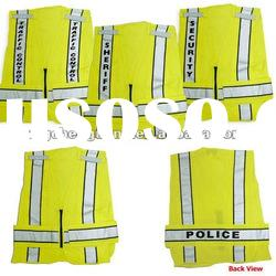 High Visibility Reflective Police Traffic Vest