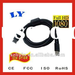 High speed HDMI cable with Ethernet for 3D support cables