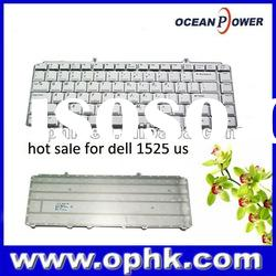 Hot Sale!!! Silver laptop keyboard for dell 1525 1400 1420 1520 us