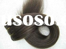 NEW TYPES wholesale price high quality remy human hair weft