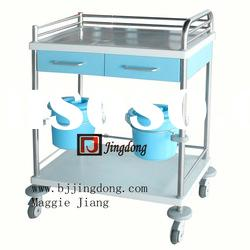 Newly Designed ISO approved Stainless Steel Hospital Trolley