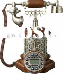 Novelty polyresin china antique gift telephone for personalized corporate gifts
