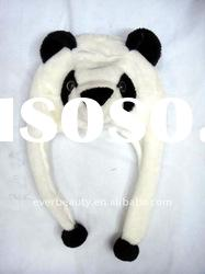 Plush funny animal shape winter hats 2012