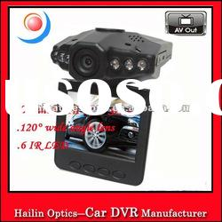 Portable Blackbox DVR with 2.5 inch TFT LCD Screen and 6 LED Day and Night Vision