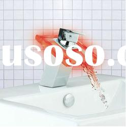 Red Color Waterfall LED Light Water Faucet