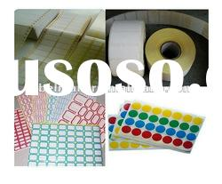 Roll Blank Printing adhesive label sticker
