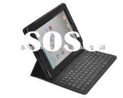 Super slim Bluetooth ABS Keyboard with case Colorful PU Leather
