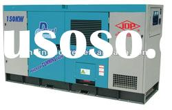 Water cooled Soundproof 200kw Diesel Generator set powered by chongqing Cummins engine