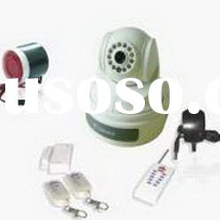 Wireless 3G Alarm Camera with Two-way Talk and PTZ Control and Auto Dial 3G Video Call to alarm