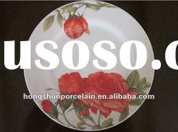 cheap dinner plate/porcelain dinner plate/ceramic dinner plate/ceramic dish/meat plate