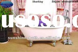 freestanding cast iron enamel bathtub SW-1006