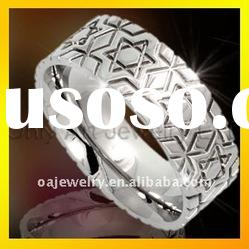 hot sell fashion jewelry with top quality mens titanium rings paypal